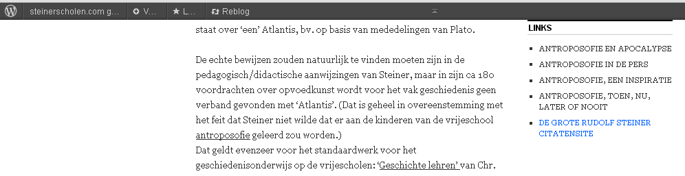 Pieter Witvliet over Atlantis
